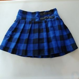 Cute JUSTICE Buffalo Plaid Skort